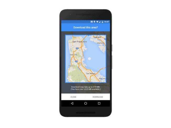 Google Maps update brings offline turn-by-turn navigation