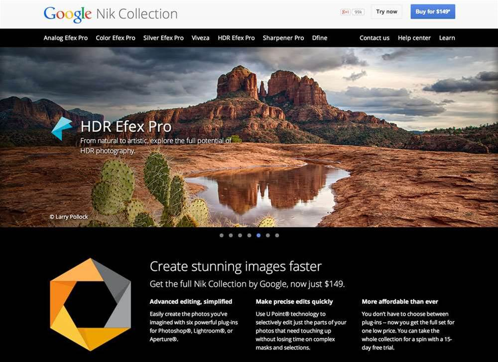 Google Nik Collection now free for all