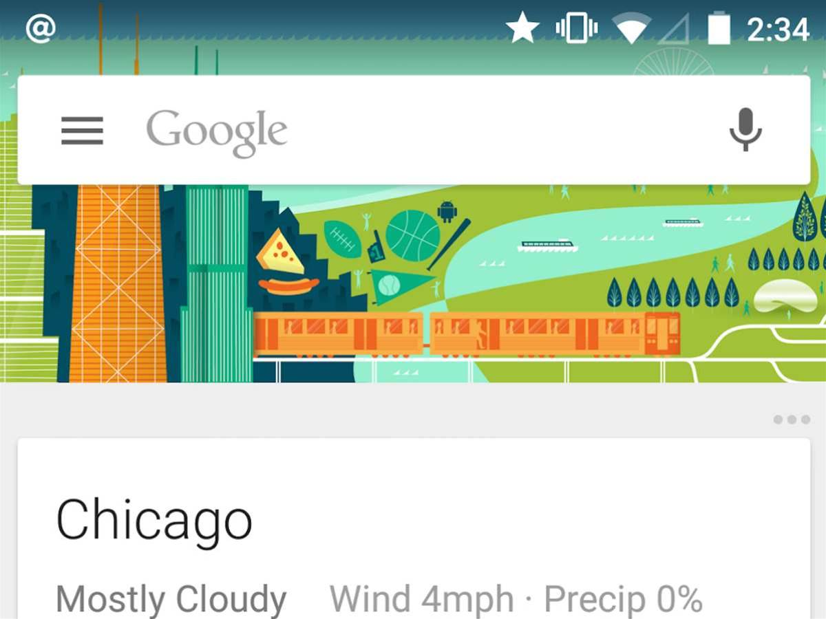 Google Now allows third-party apps to send you cards