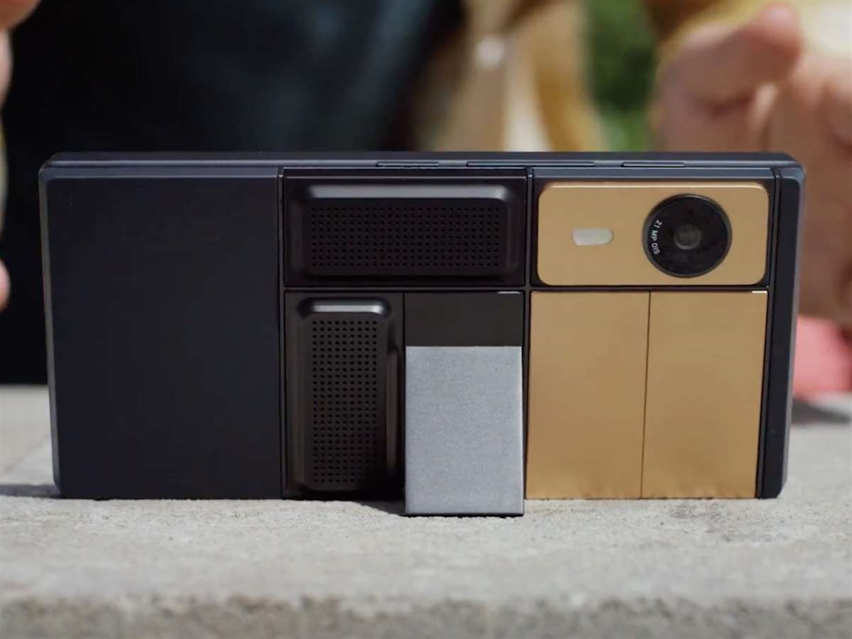 Google's modular Project Ara phone is back and reaching consumers in 2017