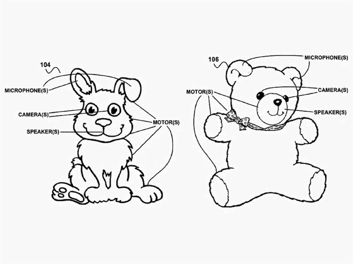 Interactive toys at the heart of Google's patent