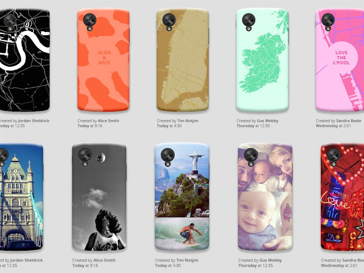 Google planning to offer custom cases for Nexus phones