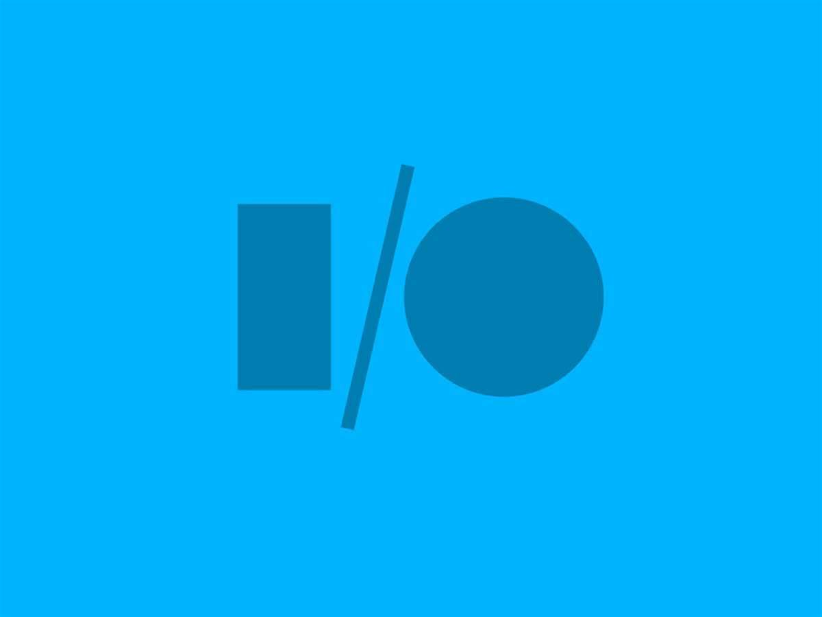 Google I/O dates set