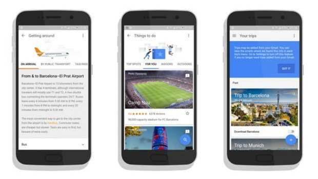 Google Trips wants to be your Android holiday concierge
