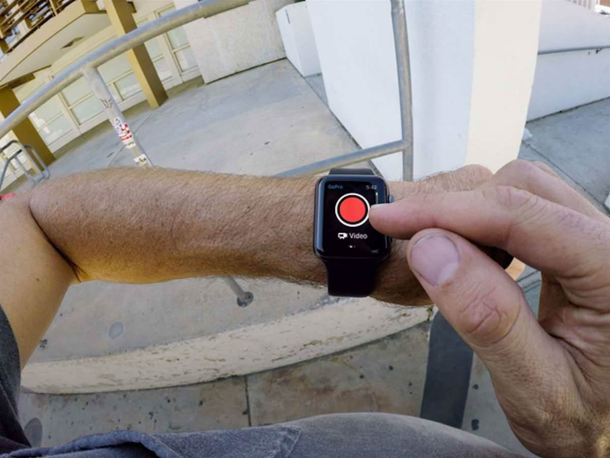 GoPro gets Apple Watch controls