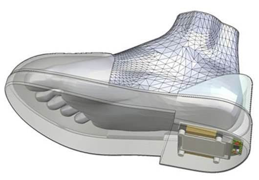 First GPS-Enabled Walking Shoes Help Caregivers Track Alzheimer's Patients