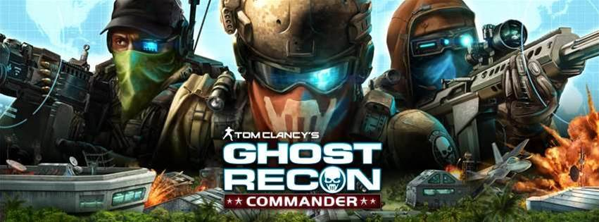 Ghost Recon Commander - a real game... on Facebook?