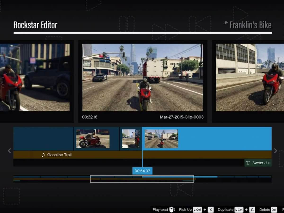 Grand Theft Auto V for PC lets you cut amazing films with ease using the Rockstar Editor