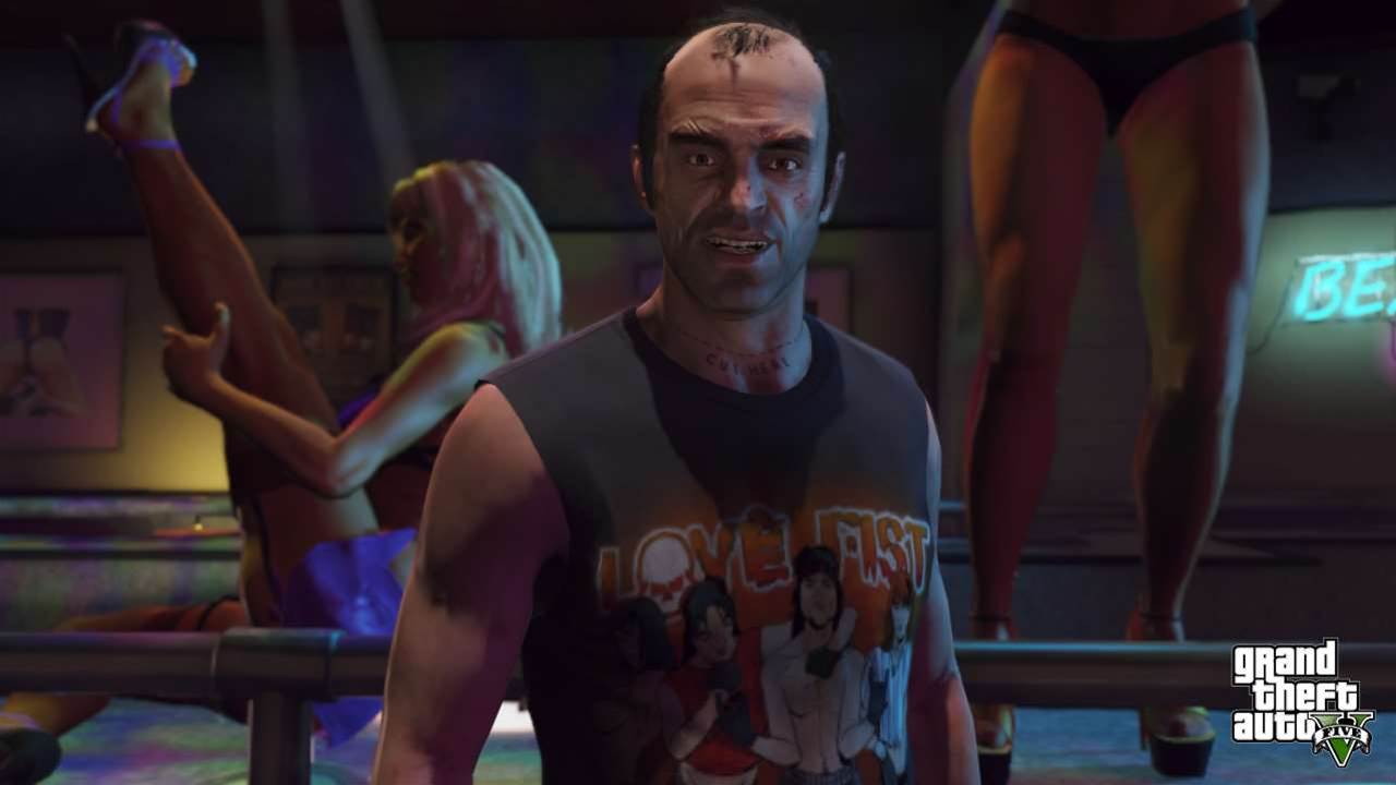 First look: Grand Theft Auto V