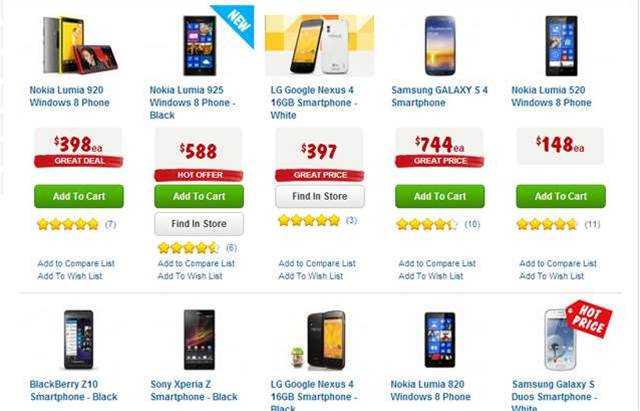 Harvey Norman is advertising phone deals this weekend