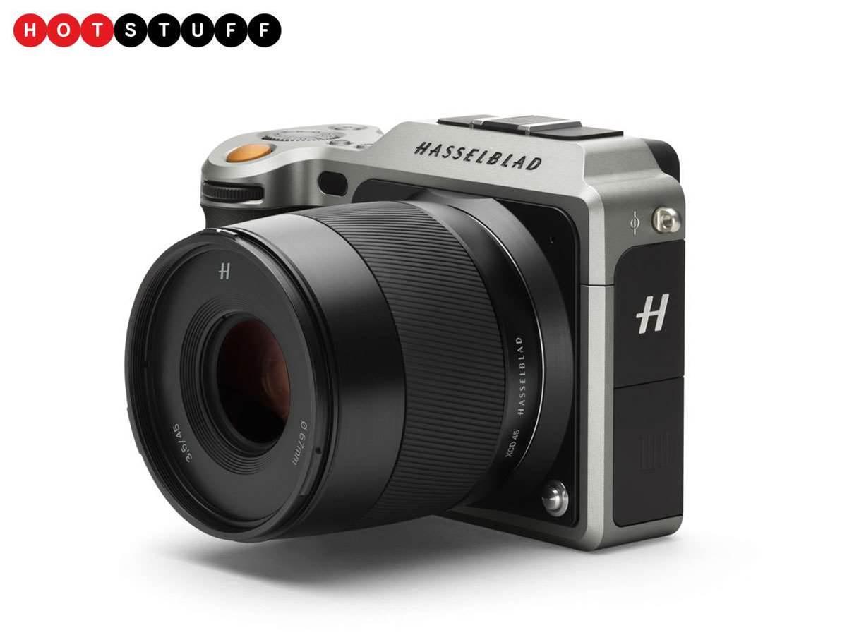 Hasselblad X1D: medium format in a compact camera