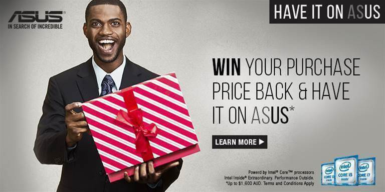 Asus has a great deal to offer you this Christmas!