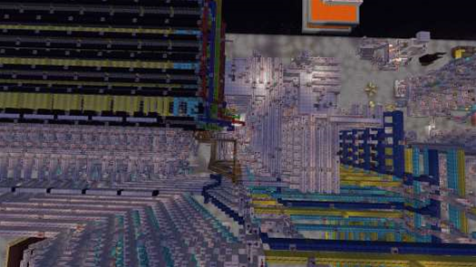 Players Build Working Hard Drive Inside Minecraft