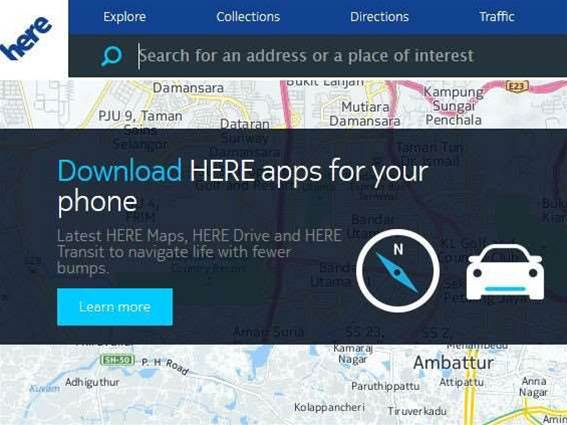 Nokia making its offline, free maps available for iOS and Android
