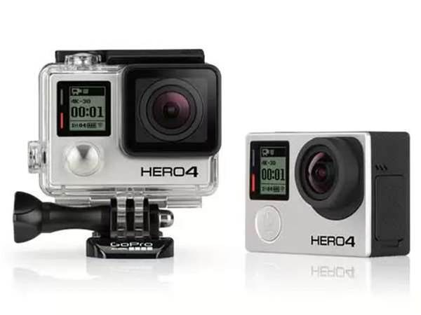 GoPro Hero4 Black records 4K video at 30fps