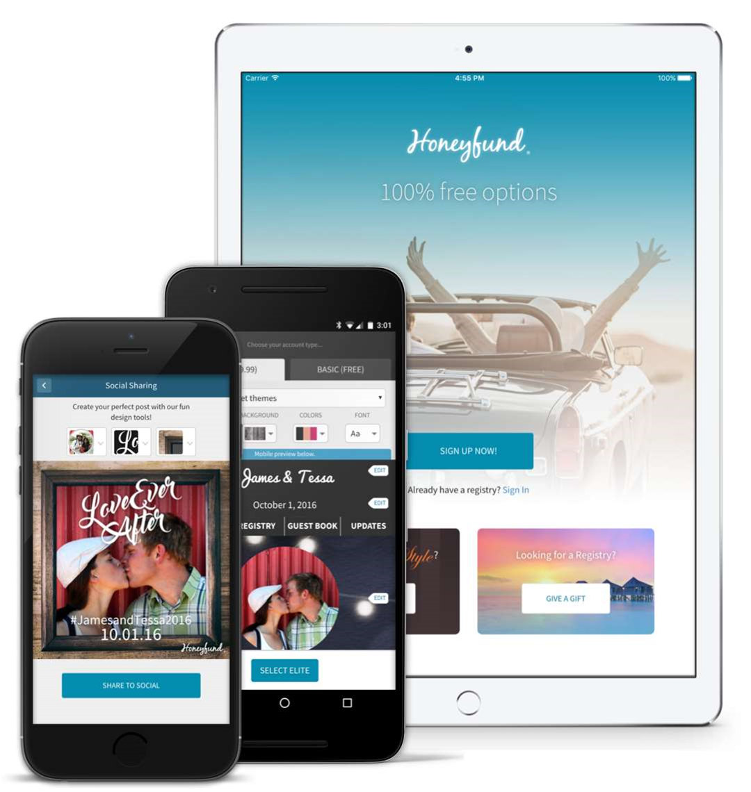 Now there's an app to crowdfund your honeymoon - because romance is expensive.