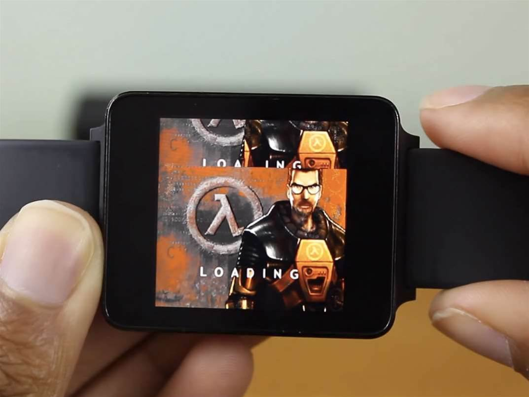This really is Half-Life running on a smartwatch