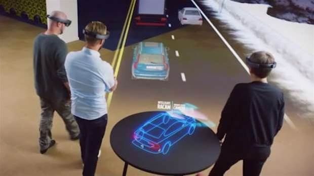 Microsoft reveals chip behind HoloLens