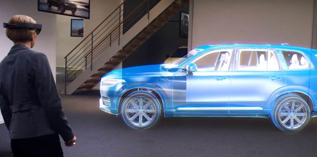 Microsoft And Volvo Bring Augmented Reality To Car Shopping