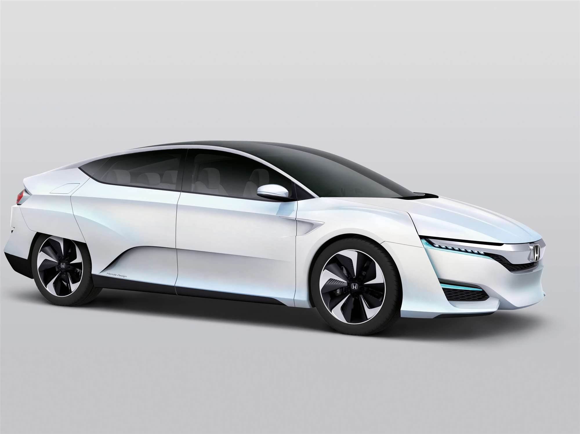 2015 Detroit Auto Show: Honda FCV Concept Offers More Power, More Space