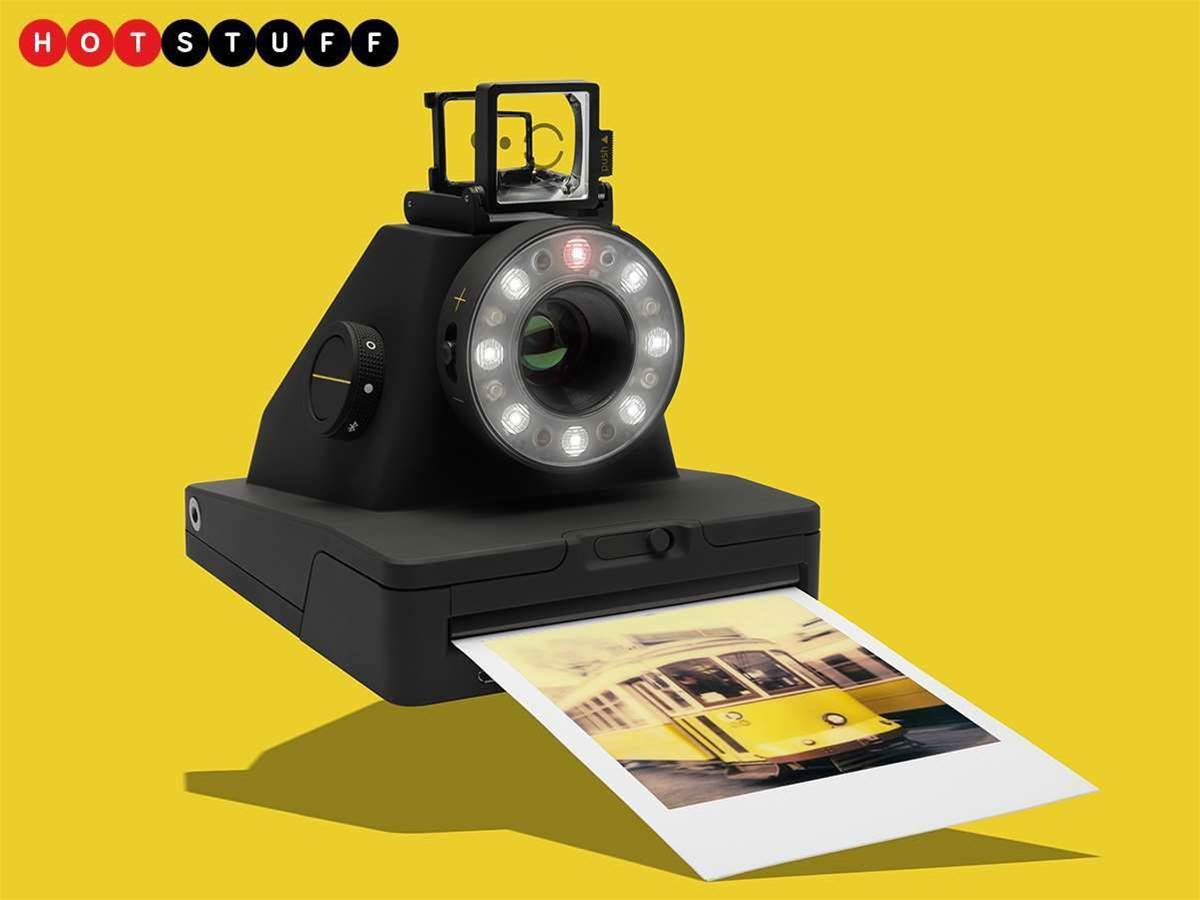 Analogue meets digital in Polaroid's crispy new I-1 camera