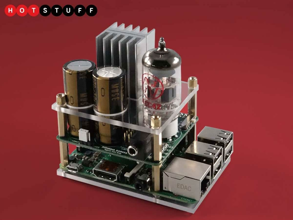 Get your Raspberry Pi rocking with this tiny tube amp