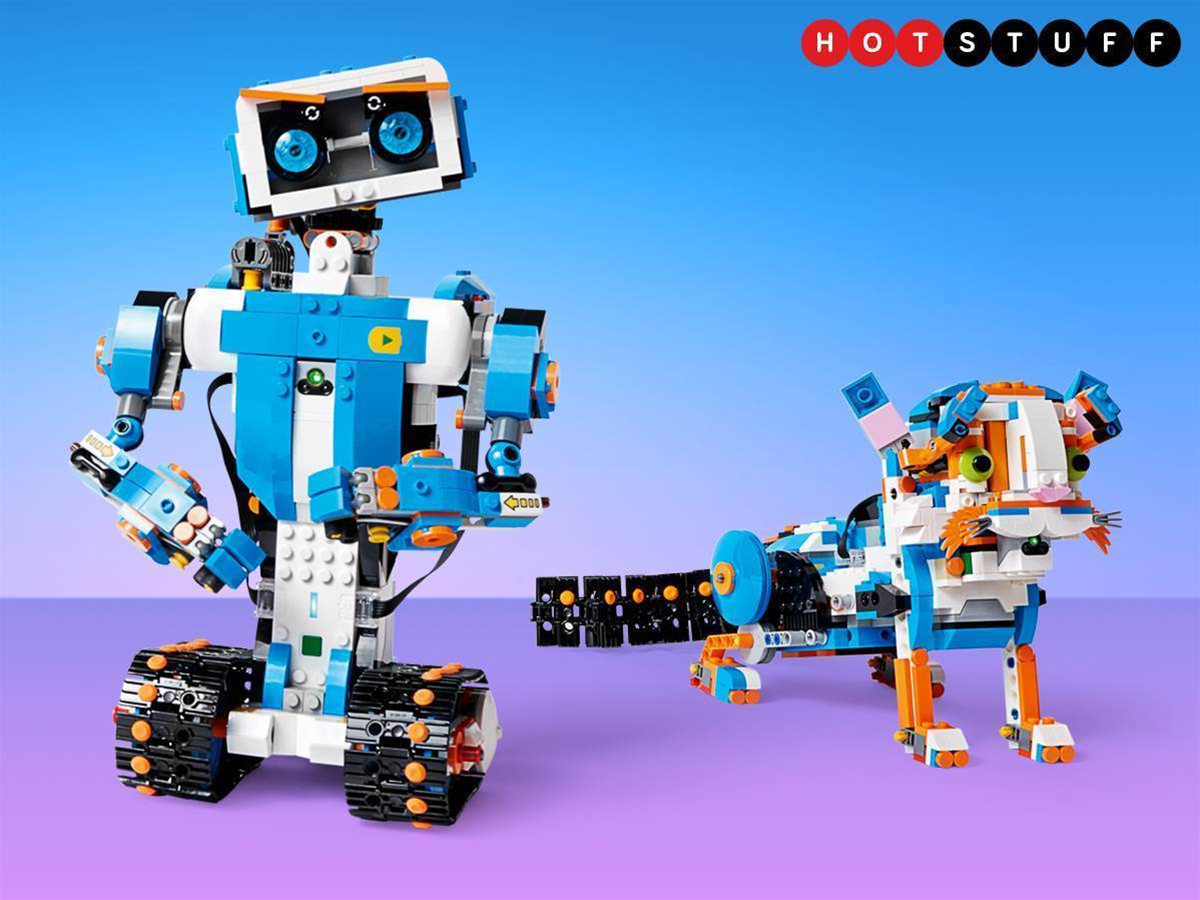Lego Boost brings tablet tech to your brick creations