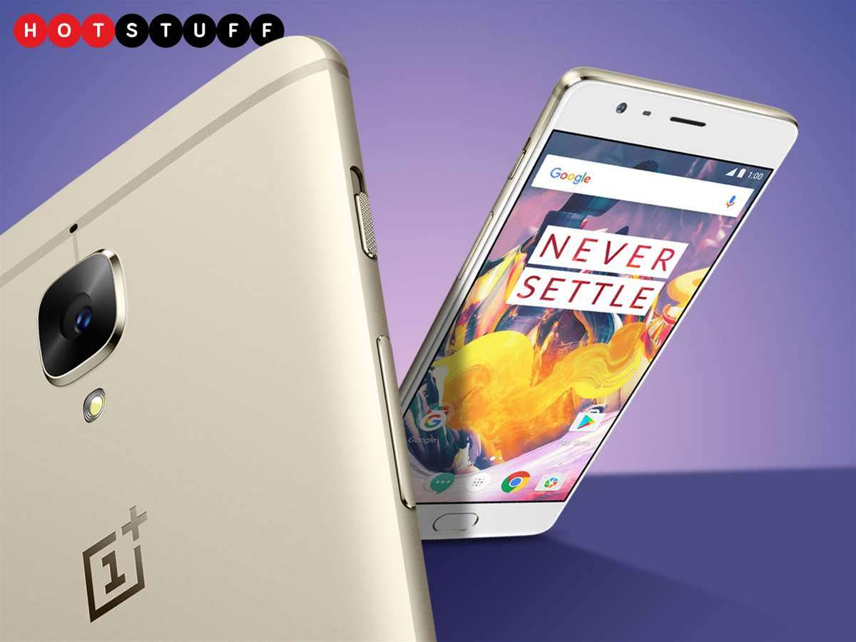 The OnePlus 3T has extra helpings of style and spec