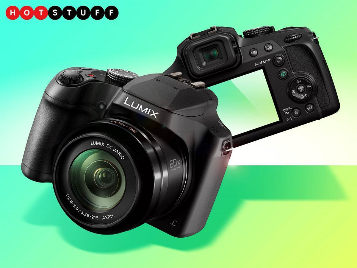 Zoom raider: Panasonic's new camera packs a long reach