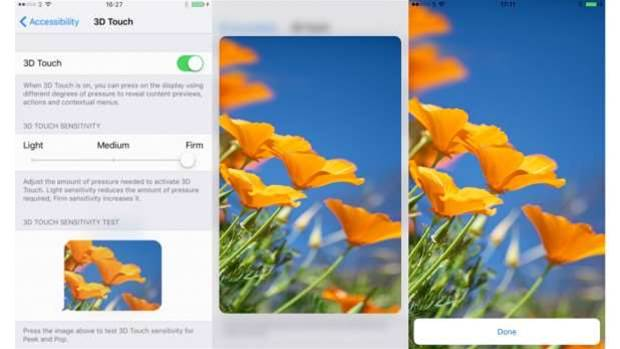 How to: Use 3D Touch on the iPhone 6s and iPhone 6s Plus