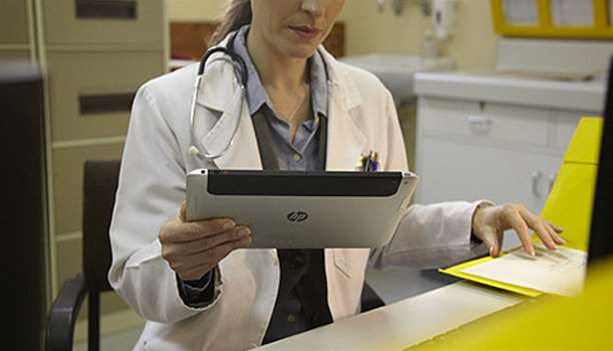HP's mystery tablet
