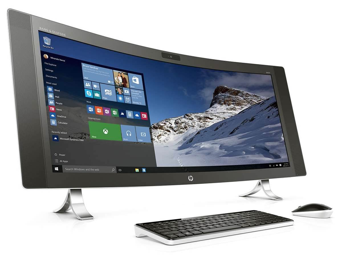 HP's curvy 34in PC will dominate your desktop
