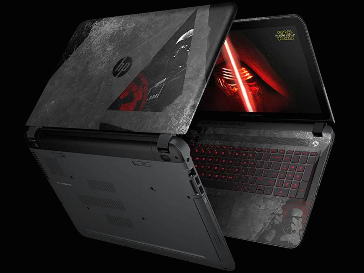 HP's exclsuive Star Wars laptop is everything we want