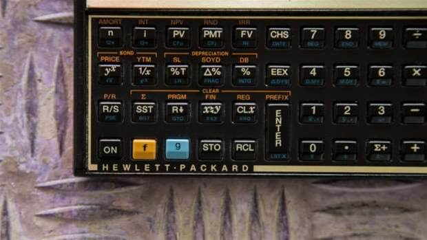 How one man reimagined the 1981 HP-12C
