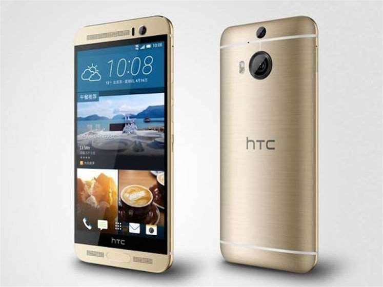 HTC One M9+ launches with a fingerprint sensor and 2K screen