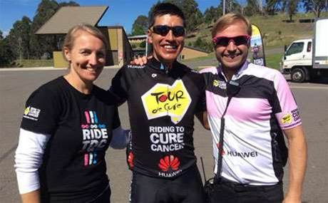 Huawei engineer's epic charity bike ride