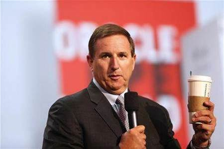 Oracle's Mark Hurd asked if he wants to 'run Dell'