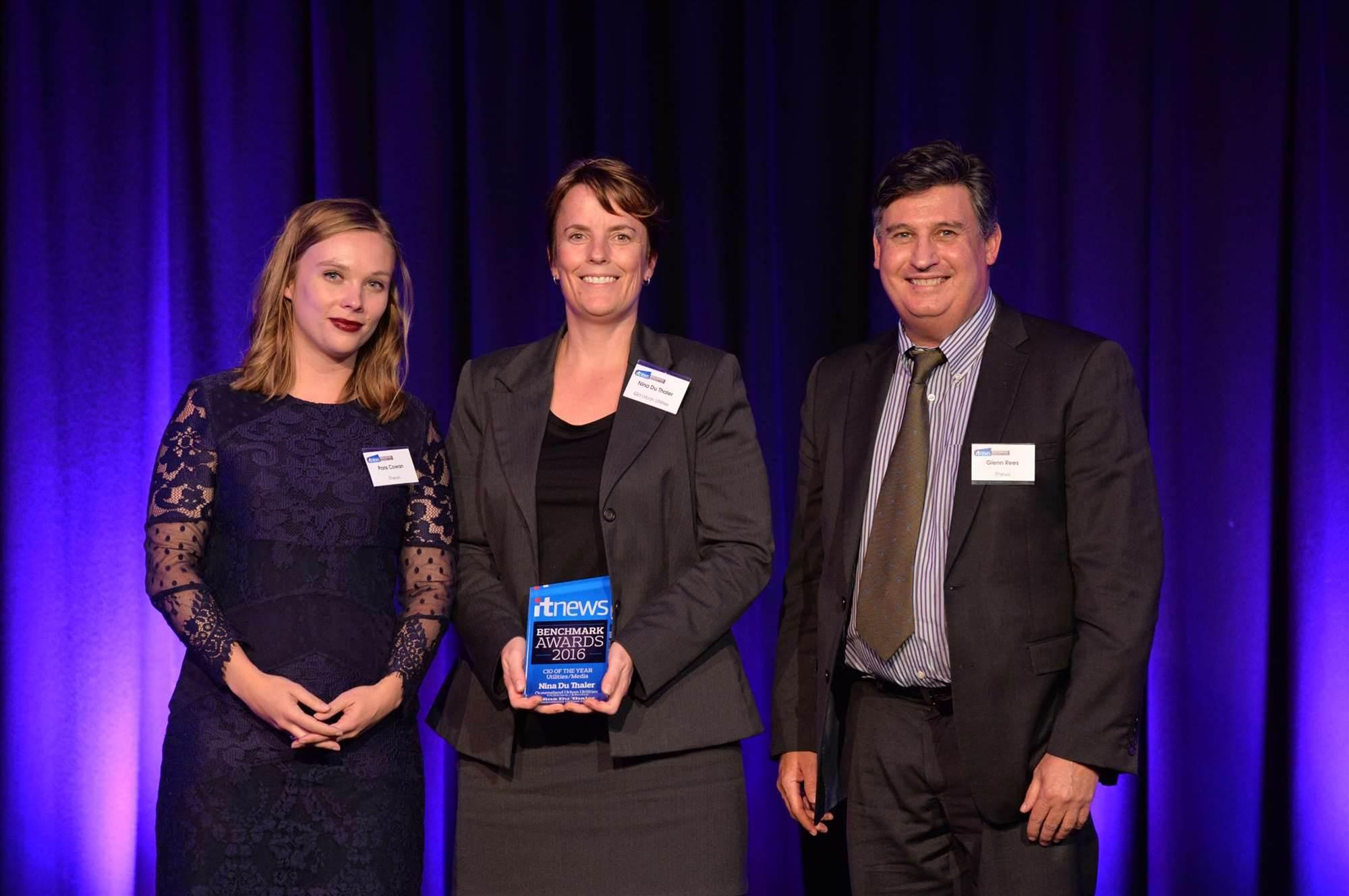 Nina Du Thaler wins Utilities CIO of the year