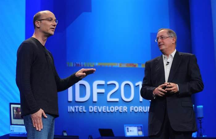 Intel CEO plays down concerns about tech spending