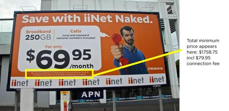 iiNet hit with $204k penalty over broadband ads