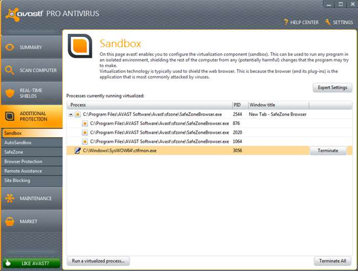 avast! Free 7 users, upgrade to Pro and save 75% from the RRP