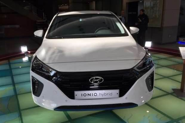 The Hyundai Ioniq is a new hybrid to rival the Toyota Prius