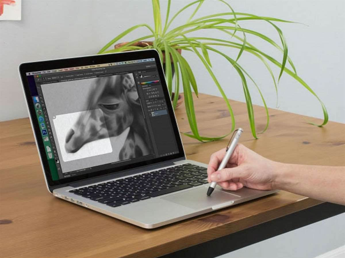 Forget tablets, Inklet lets you use new MacBook touchpad to draw