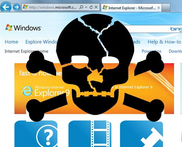 Workaround for Internet Explorer zero-day