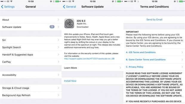 How to: Download iOS 9.3