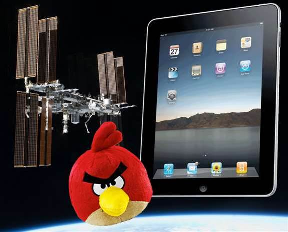 New Hi Tech To Arrive At ISS - iPads and an Angry Bird