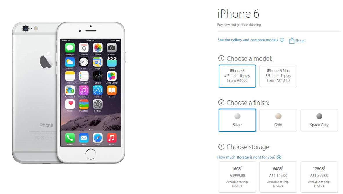 Apple jacks up Aussie iPhone 6 prices