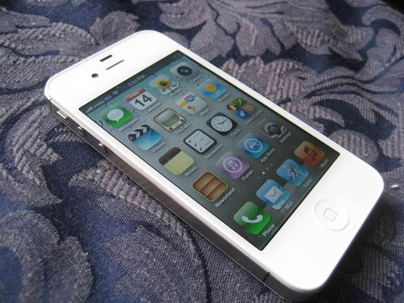 Our First Look at the iPhone 4S