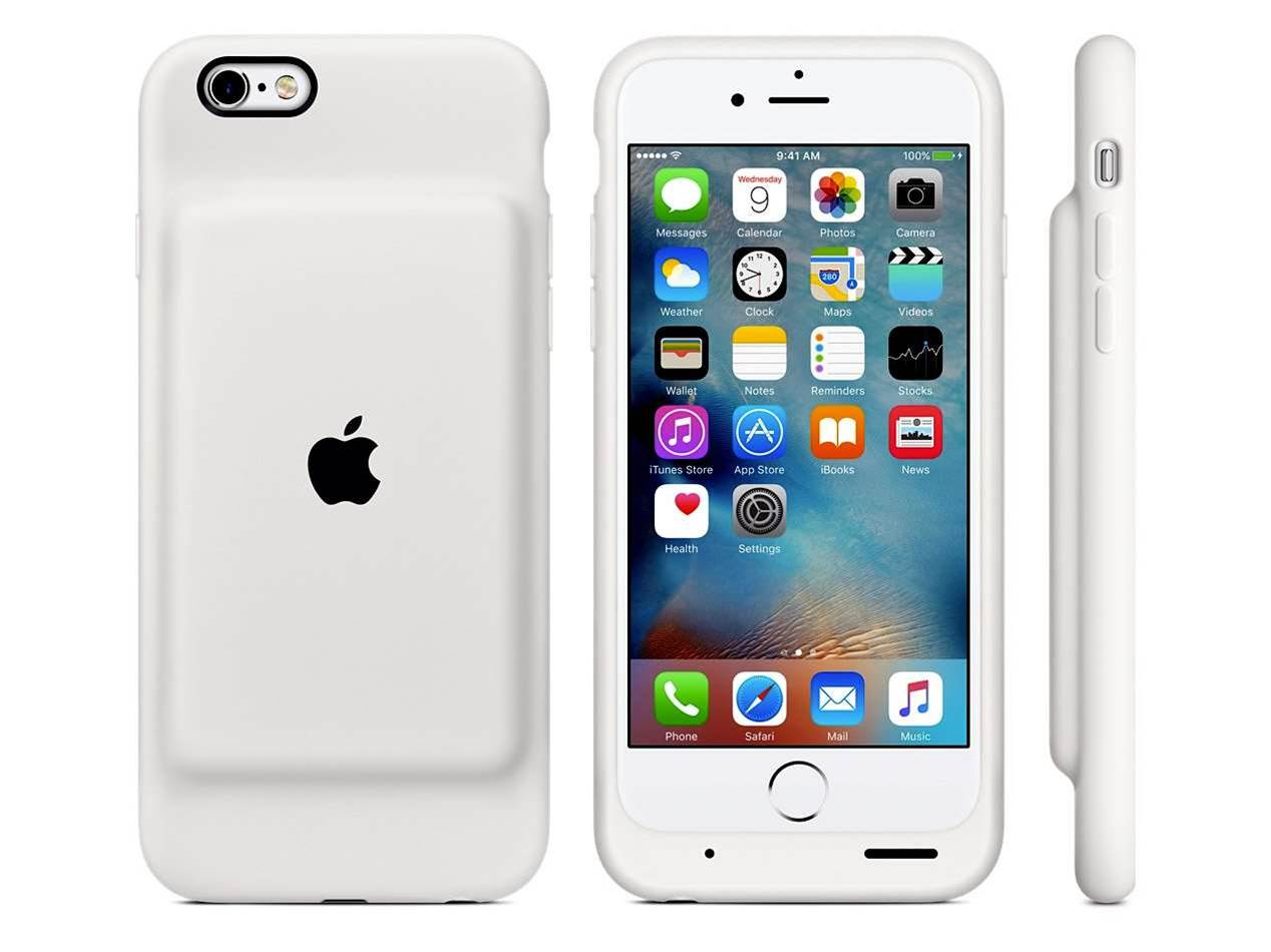 Apple reveals 25-hour battery case for iPhone 6 and 6s
