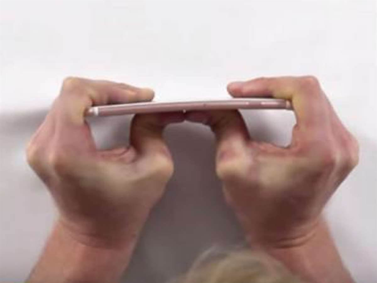 The iPhone 6s Plus will not bend